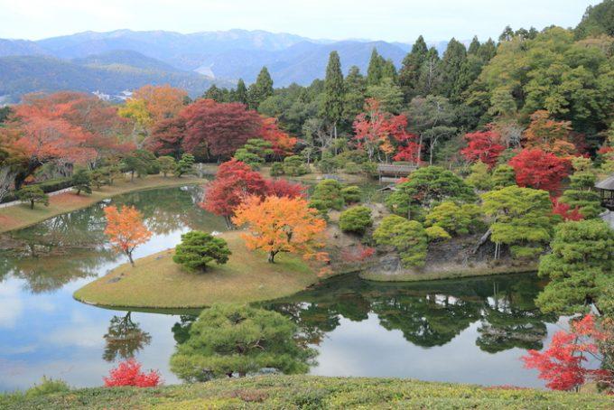 京都 修学院離宮 紅葉 周辺観光