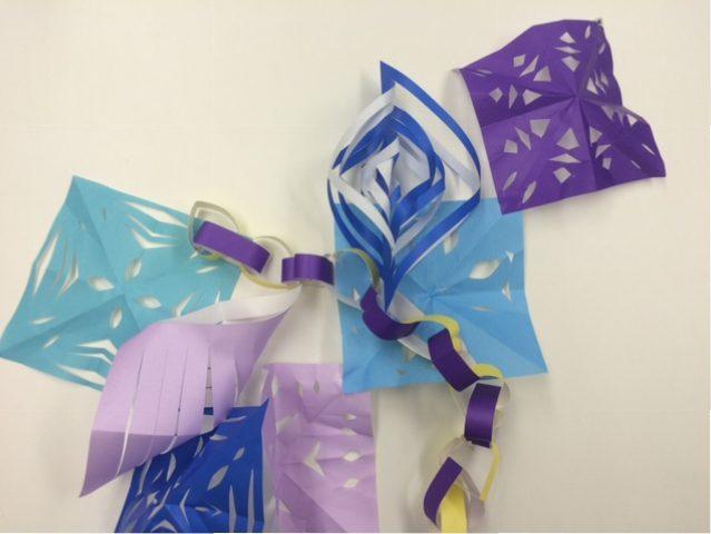 七夕飾り折り紙でおしゃれ【貝飾り】【輪飾り】【菱飾り】の作り方