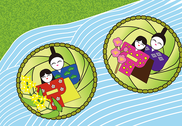 ひな祭りの由来や何をするか?いつまで飾るのかと何歳まで祝うもの?