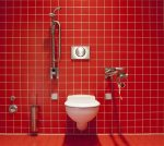 風水 トイレ 観葉植物絵 置き物 運気アップ